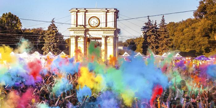 Festivalul Culorilor Darwin 2015