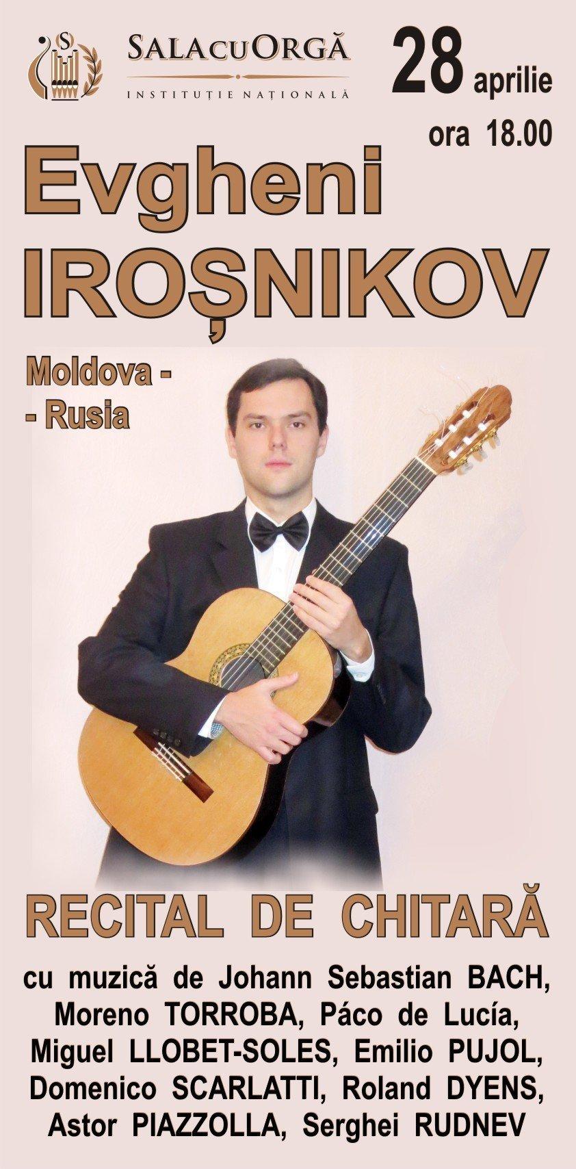 recital de chitara cu evgheni irosnikov