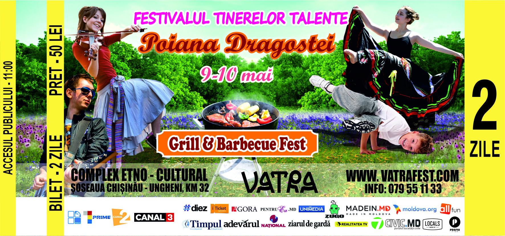 festivalul tinerilor talente - poiana dragostei