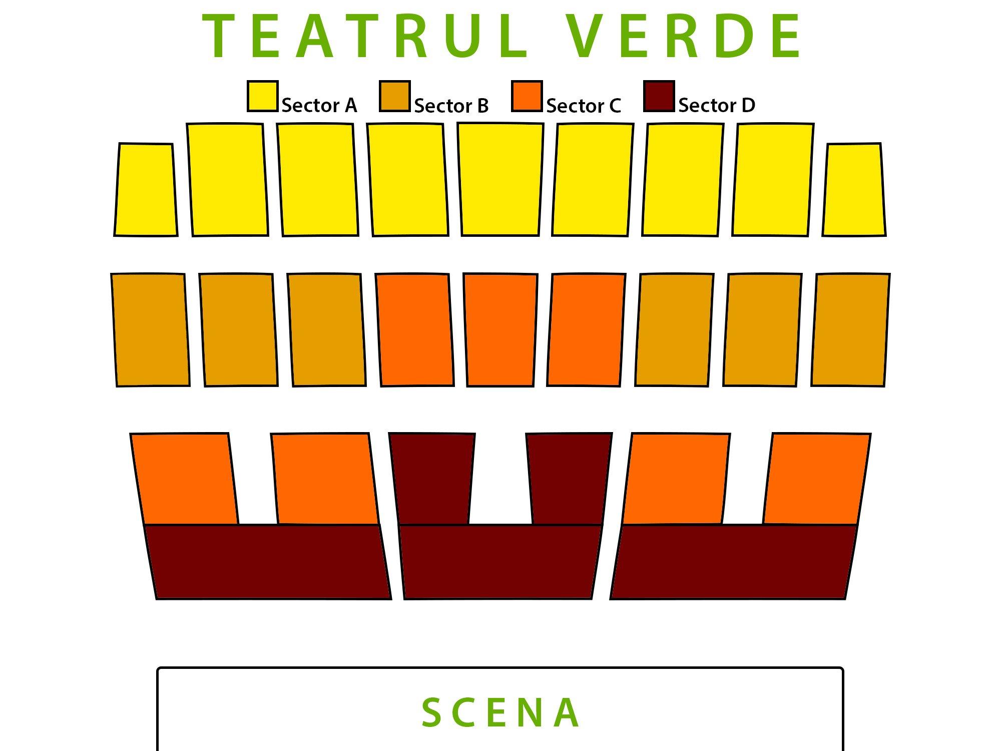 schema salii teatrul verde