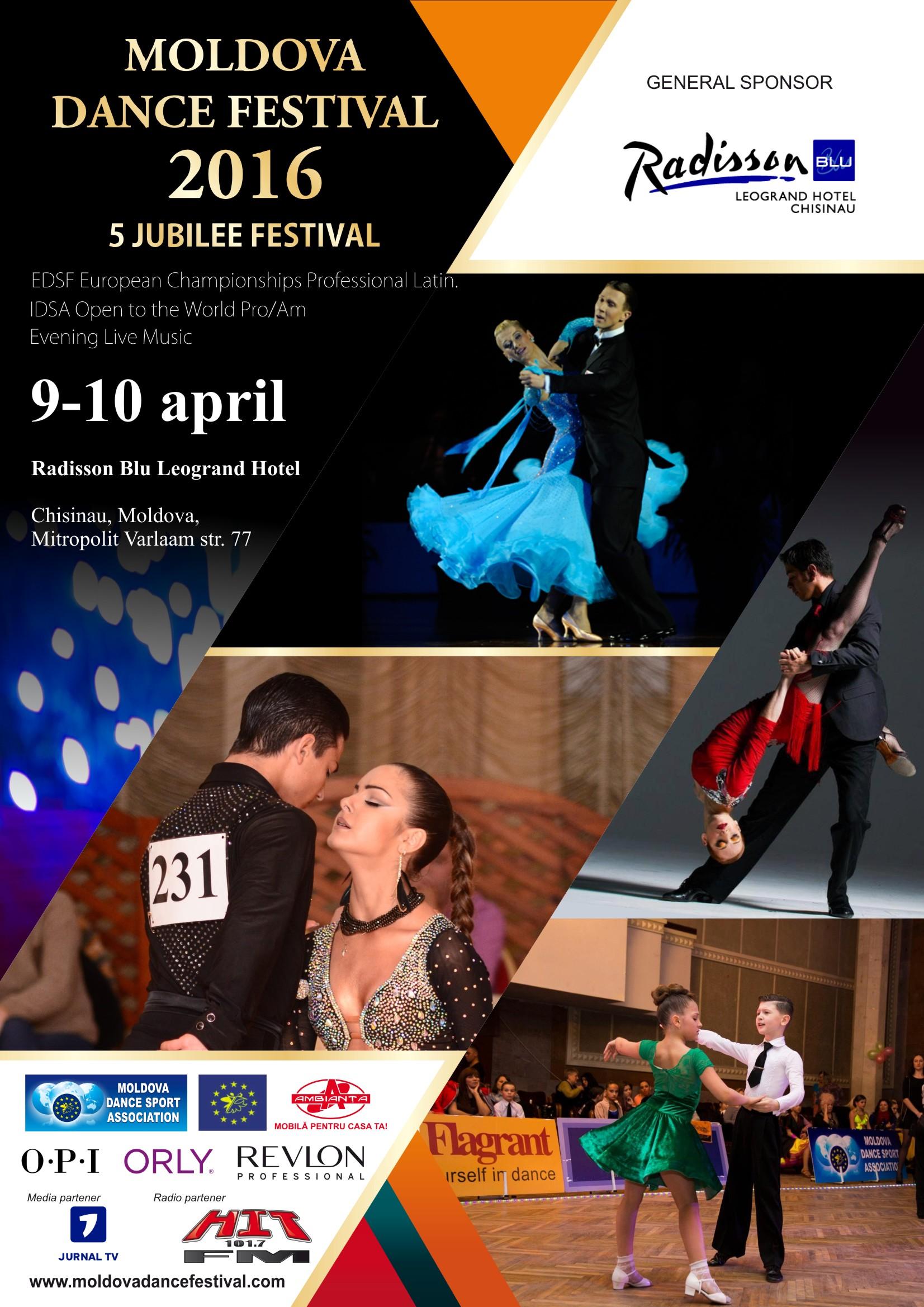 Moldova Dance Festival 2016 - 9 aprilie