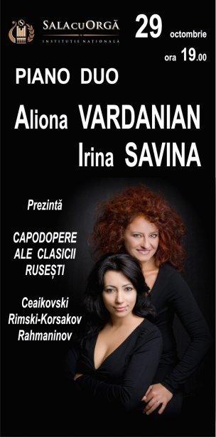 Duo de pian Aliona VARDANIAN - Irina SAVINA