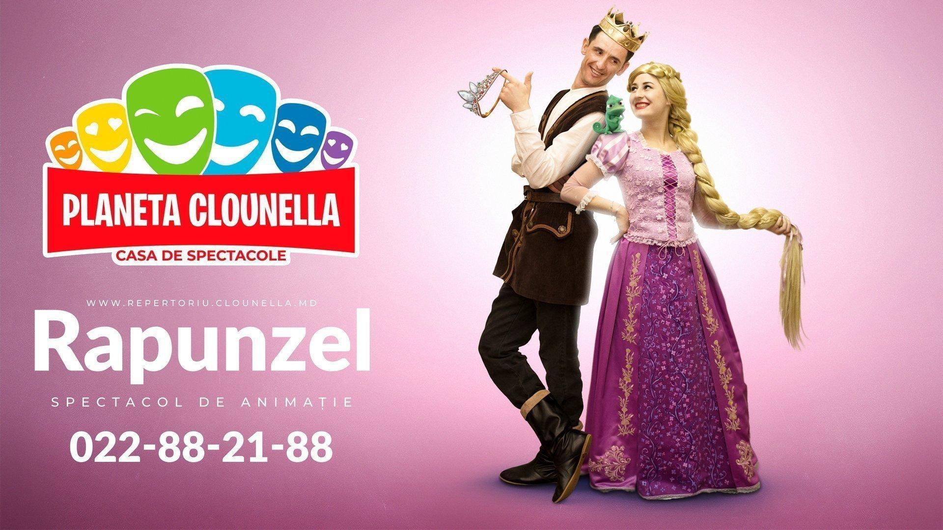 Rapunzel- Spectacol Interactiv de Animatie pentru copii | Iulie 2019 | +3