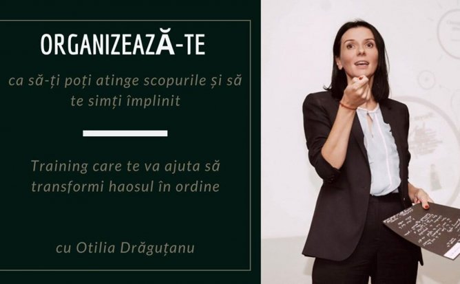 Training care te ajuta sa transformi haosul in ordine