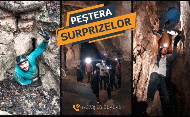 Descoperă Peștera Surprizelor!