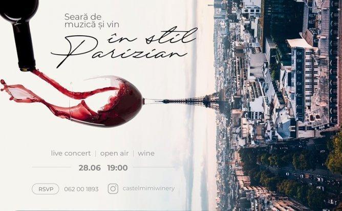 Seara de Muzica si vin in stil Parizian