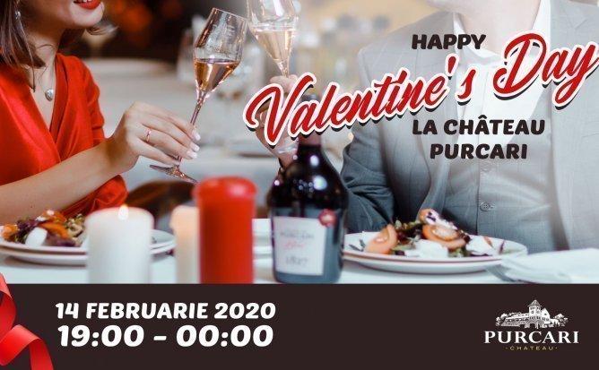 Happy Valentine's Day la Chateau Purcari