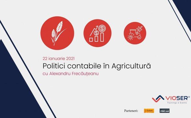 Politici contabile în Agricultură