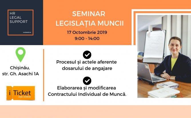 Seminar practic - Legislatia muncii