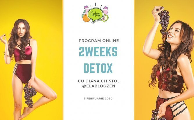 Detox1 cu Diana Chistol - Program Online de Detox | Editia 7
