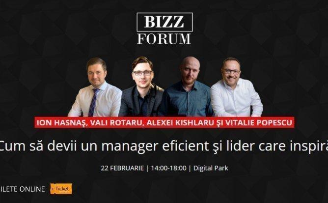 BIZZ FORUM - Cum sa devii un manager eficient si lider care inspira