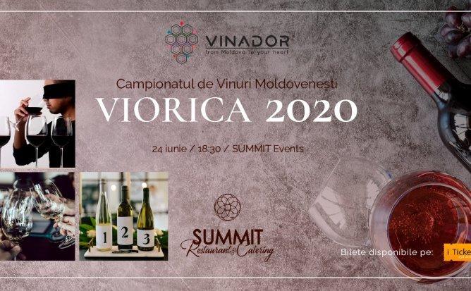 Campionatul de Vinuri Moldovenești. Ediția 1 - Viorica 2020
