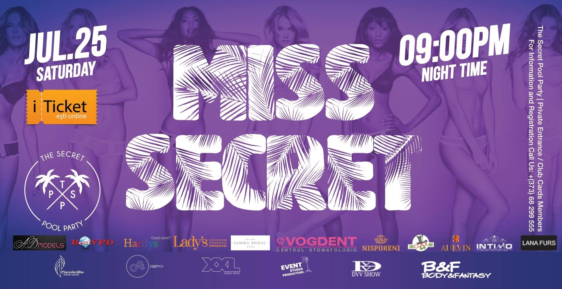 MISS SECRET - THE SECRET POOL PARTY