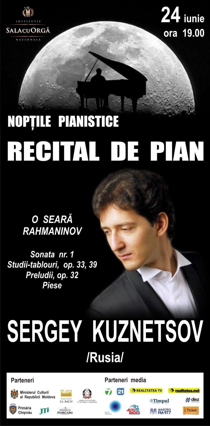 Noptile pianistice cu SERGEY KUZNETSOV