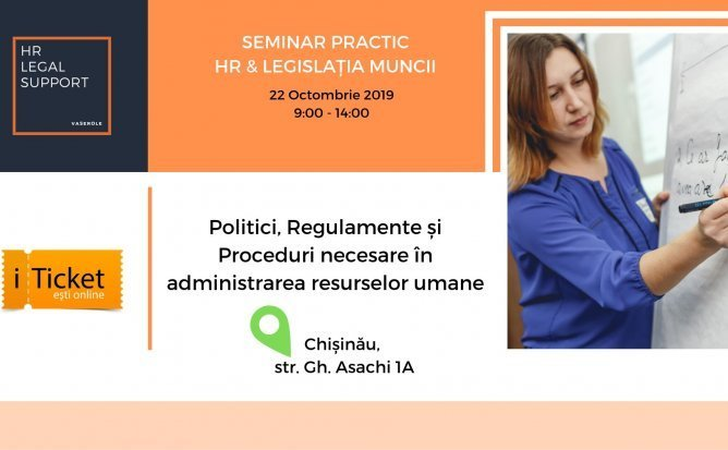 Seminar practic: HR & Legislatia muncii