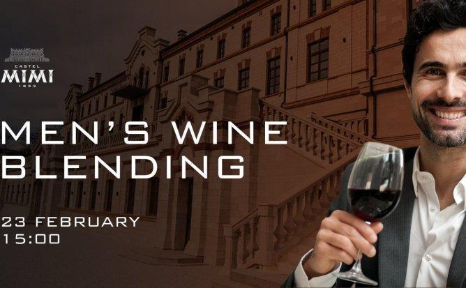 Men's wine blending