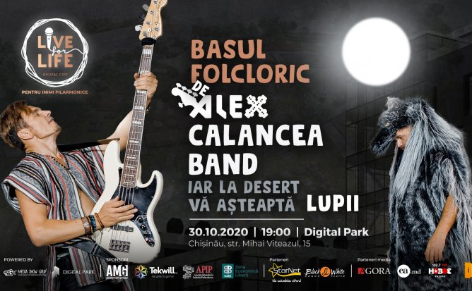 LIVE FOR LIFE CU ALEX CALANCEA BAND