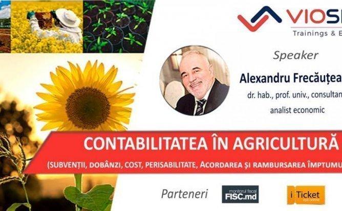 CONTABILITATEA IN AGRICULTURA