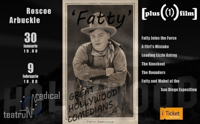 GREAT HOLLYWOOD COMEDIANS - Short films by Roscoe