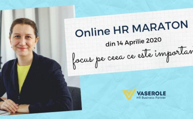 Online HR MARATON: ROLUL HR MANAGERULUI PE TIMP DE CRIZA