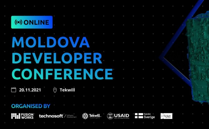 Moldova Developer Conference 2020