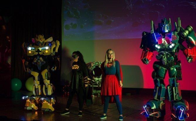 Synopsis - Spectacol Interactiv de Animatie pentru copii realizat de Liga Robotilor | Februarie 2020 | +3