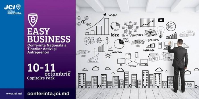 EASY BUSINESS - Conferinta Nationala JCI Moldova