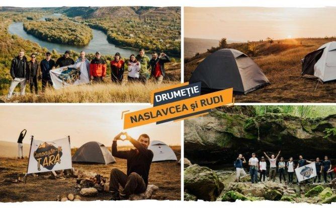 Drumeție + Camping cu Cortul la Rudi și Naslavcea