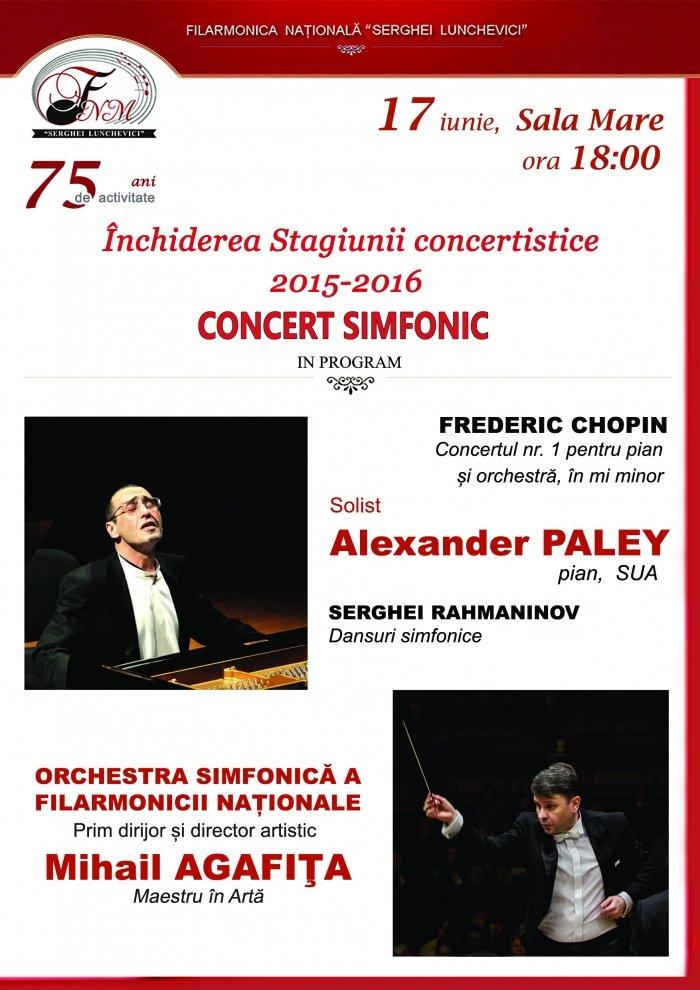 concert simfonic iunie