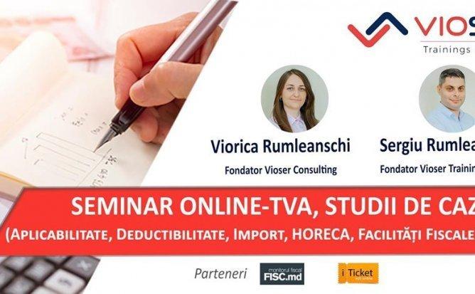 Seminar Online - TVA, Studii de caz