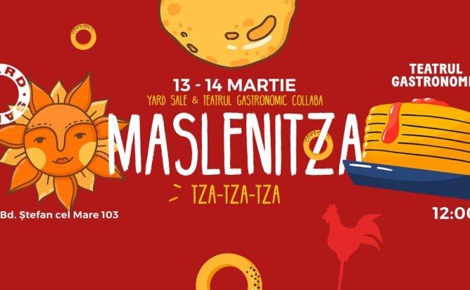MASLENITZA! TZA-TZA-TZA! YardSale in vizită la Teatrul Gastronomic