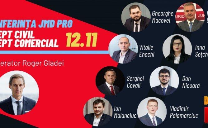 Conferința JMD PRO - Drept civil / drept comercial