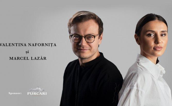 Valentina Nafornița și Marcel Lazăr