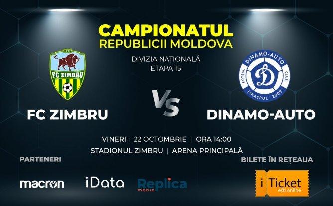 Zimbru - Dinamo Auto