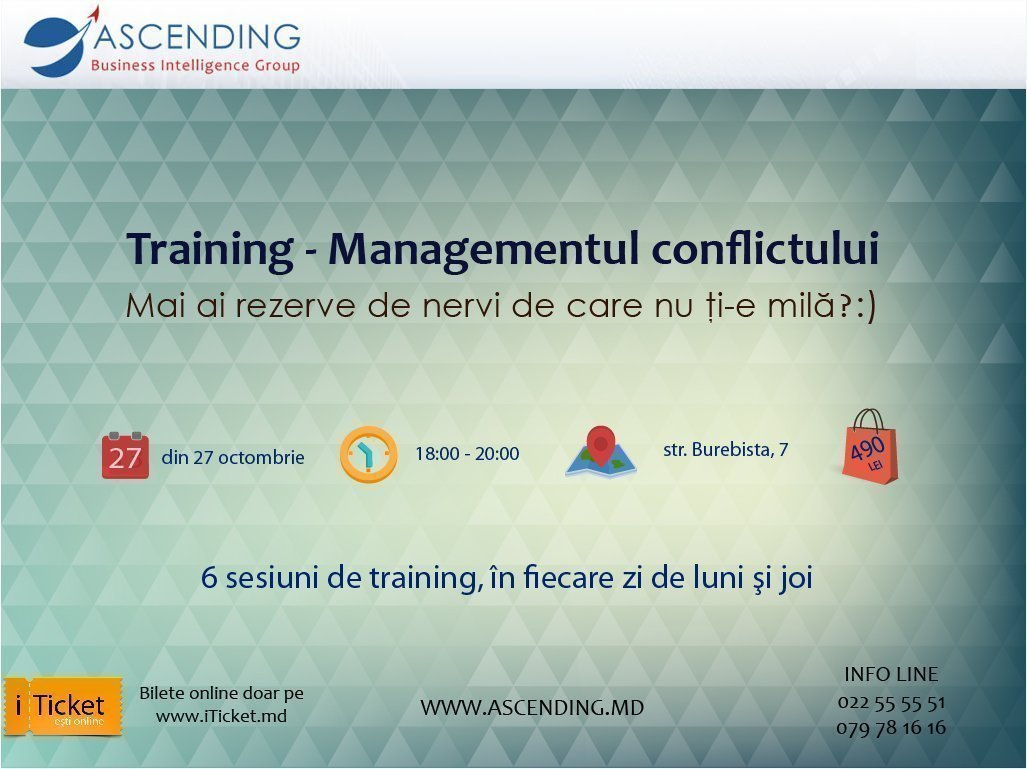 Training: Conflict Management