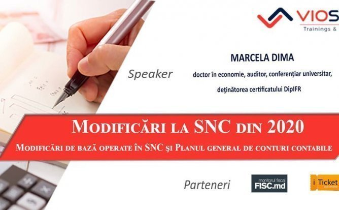 Modificari la SNC din 2020
