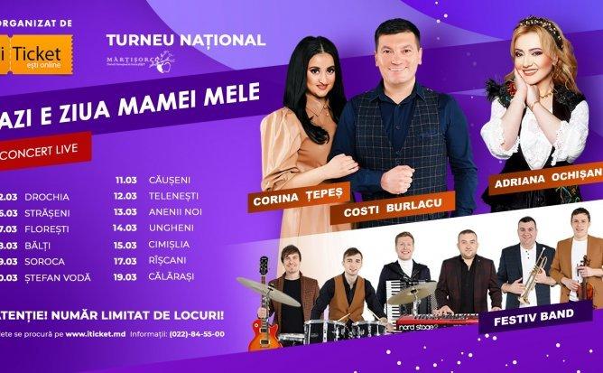 Concert Căușeni - Azi e ziua Mamei mele