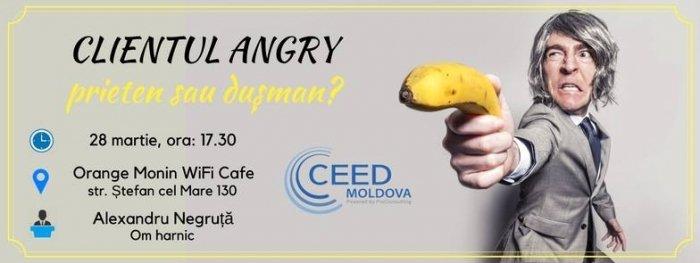 clientul angry