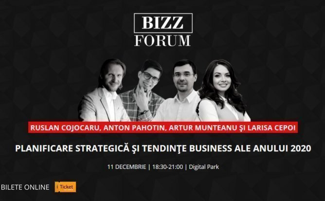 BIZZ FORUM - Planificare strategica si tendinte business ale anului 2020