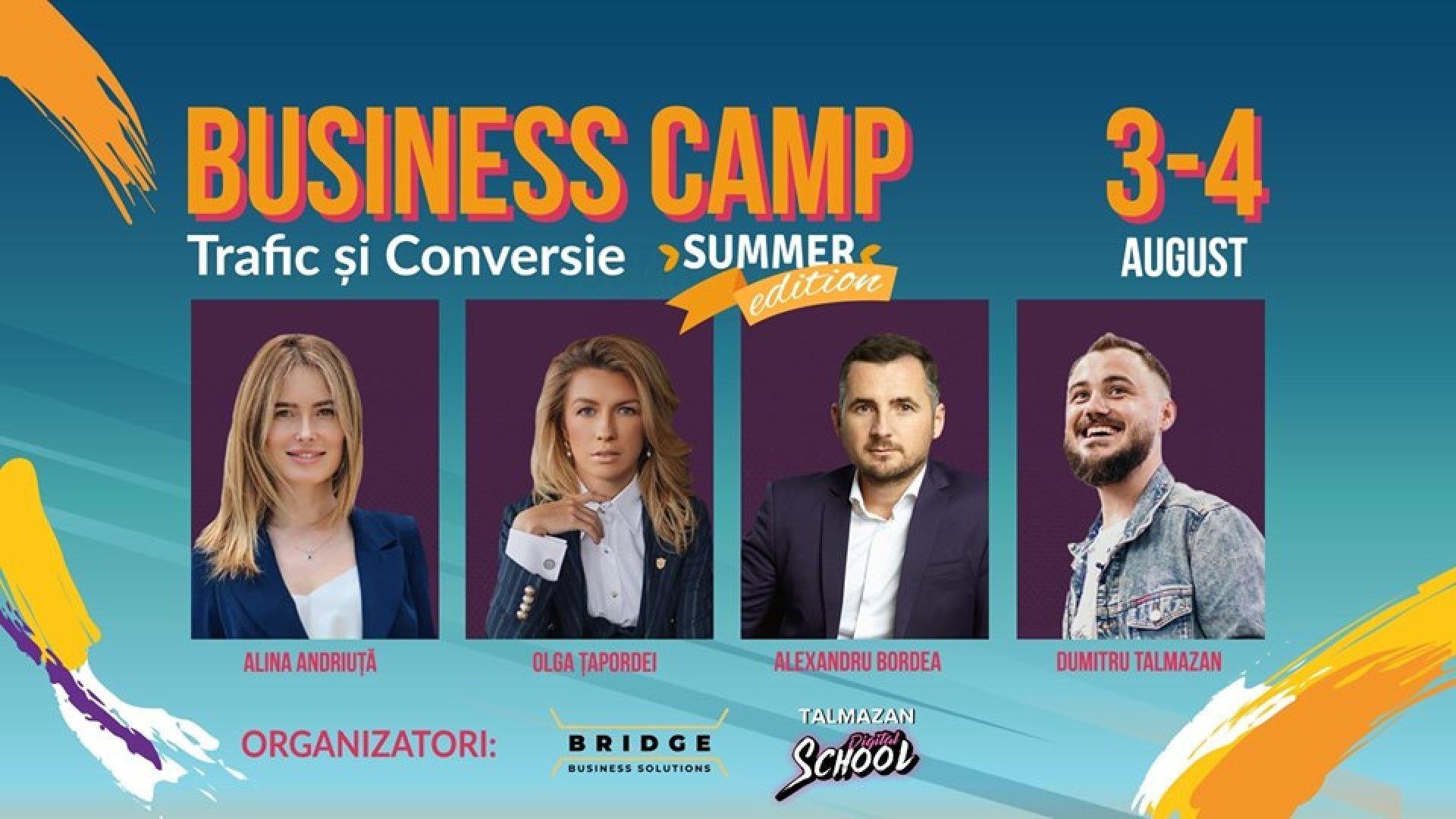 Business Camp - Trafic si Conversie |Summer edition