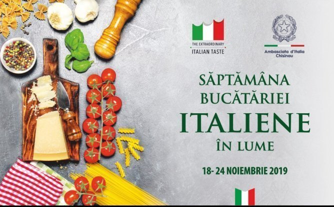 Săptămâna cu arome ale bucătăriei italiene la Chișinău