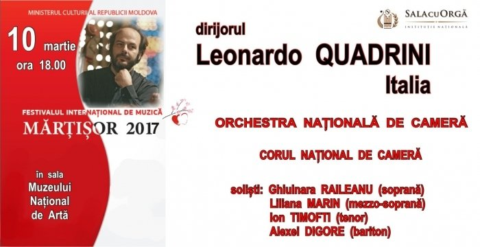 Dirijorul LEONARDO QUADRINI