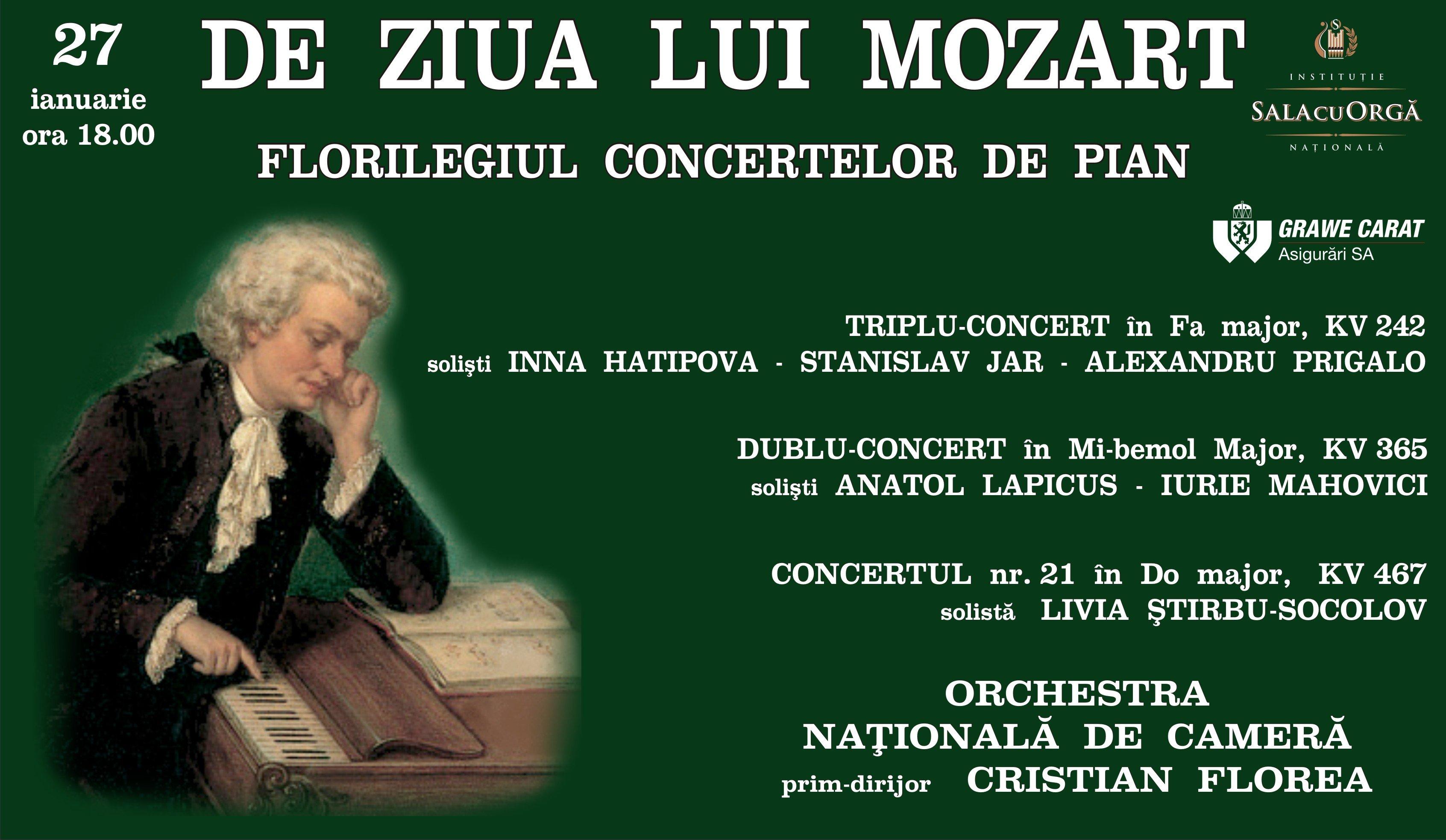 De ziua lui Mozart