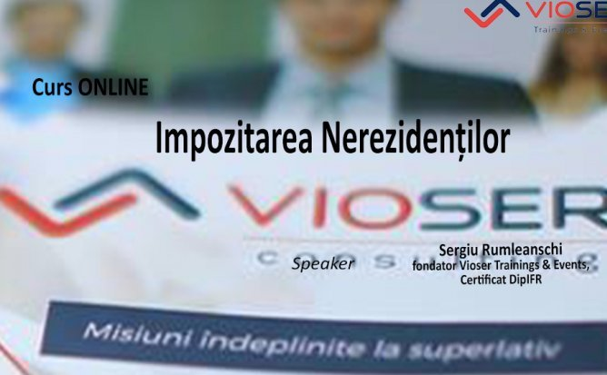 Seminar Online Impozitarea Nerezidentilor