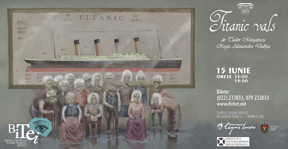 Titanic Vals - ora 19:00