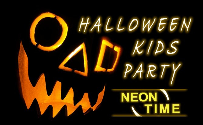 Neon Time Halloween Party