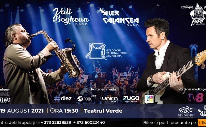 Moldovan National Youth Orchestra, Alex Calancea Band si Vali Boghean Band