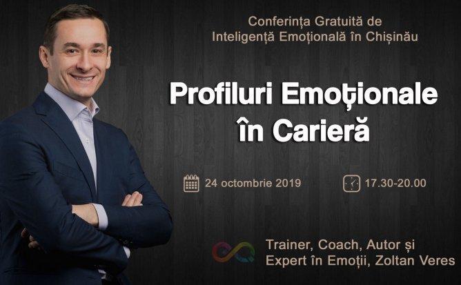 Conferință Gratuită: Profiluri emoționale în Carieră