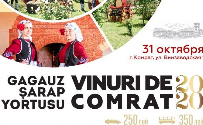 Gagauz Sarap Yortusu la Vinuri de Comrat