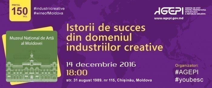 Istorii de succes din domeniul industriilor creative